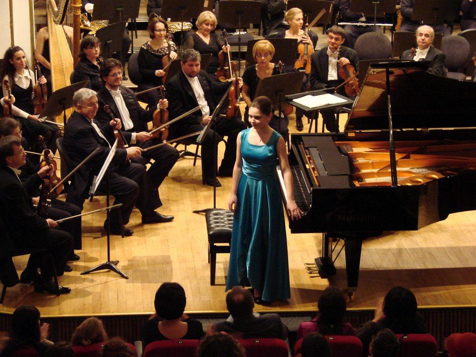 cu Maestrul Sabin Păutza şi Orchestra din Oradea, 2012
