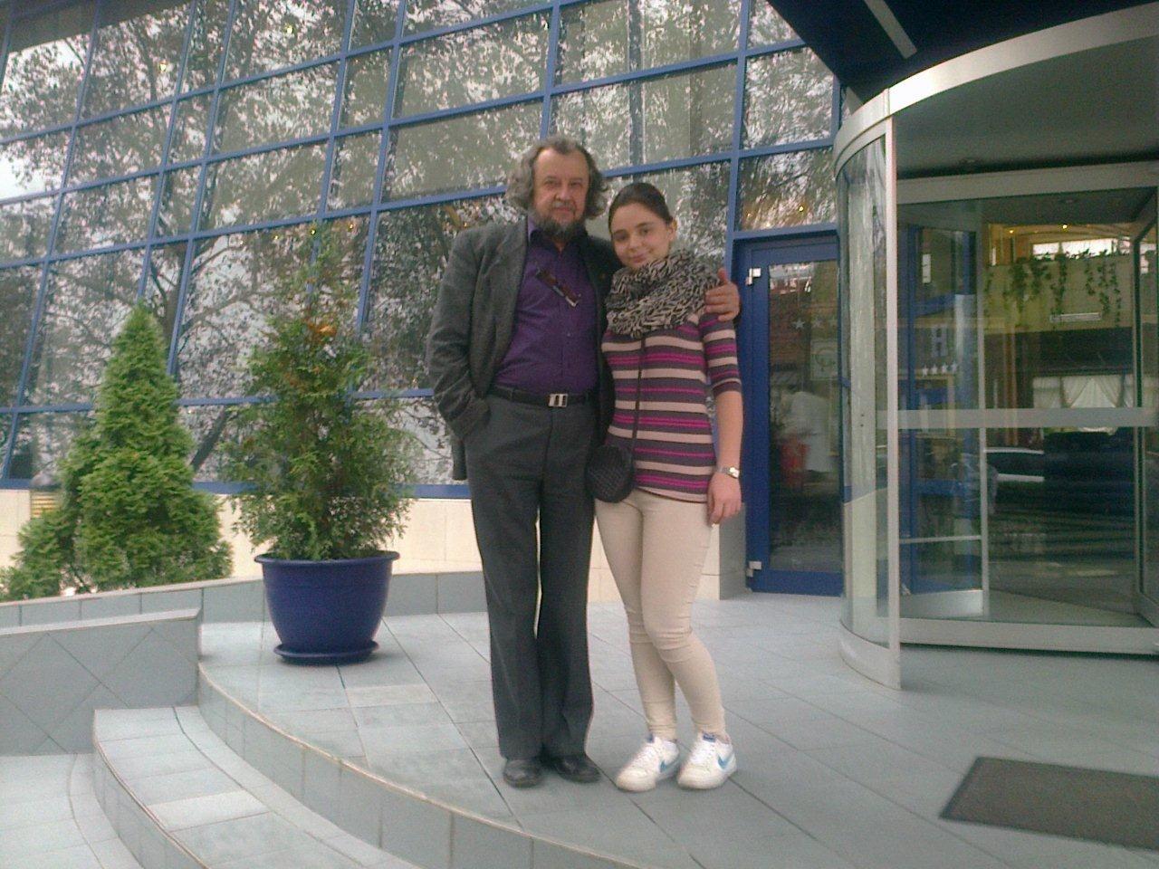 cu Maestrul Sabin Păutza, 2012