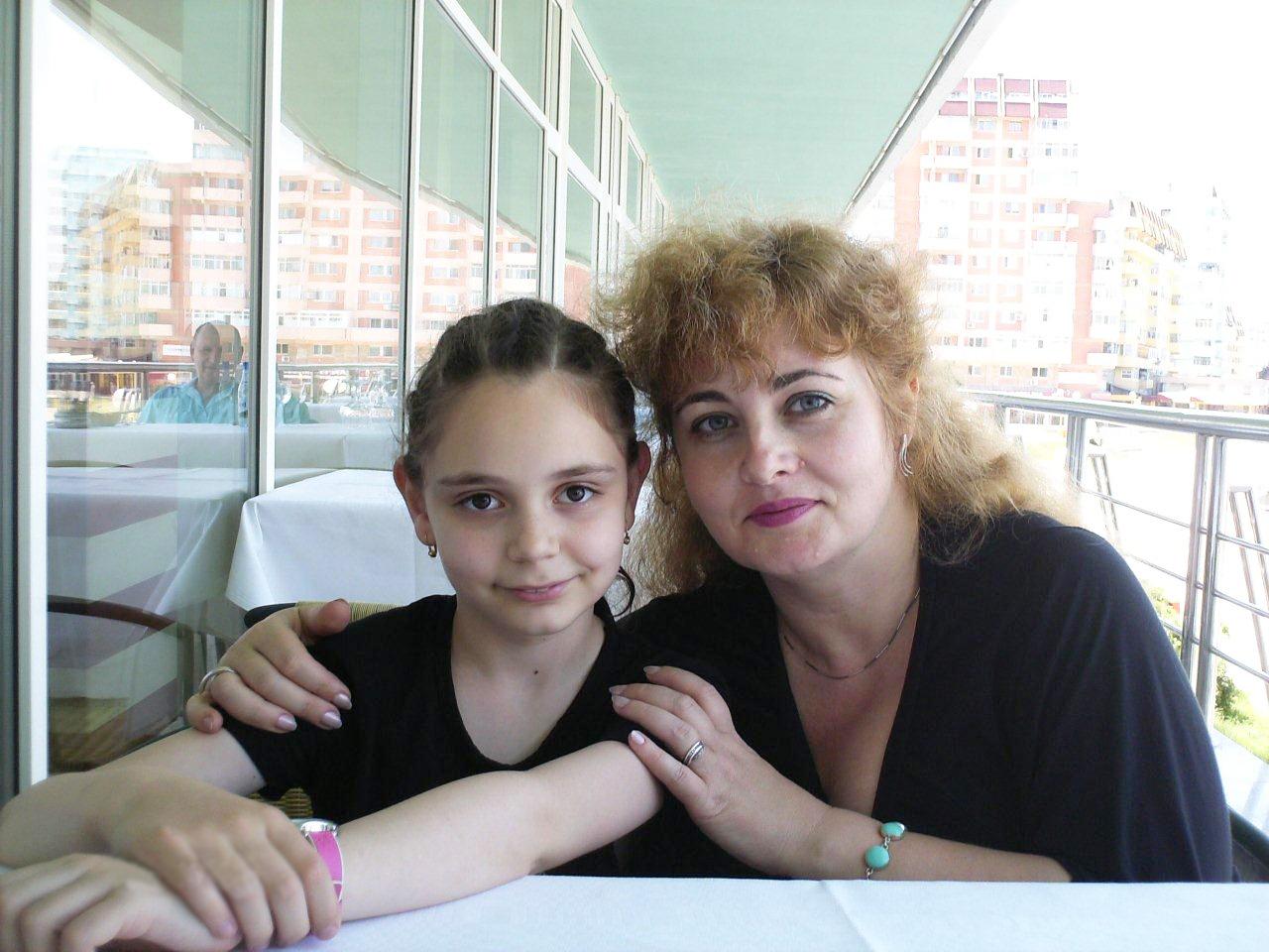 with Monica Buhai, 2007