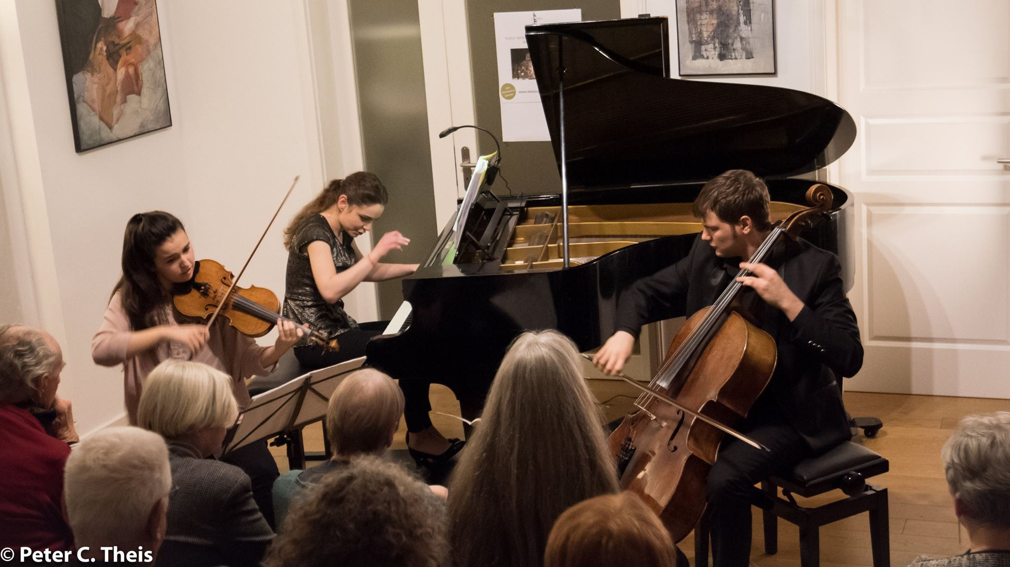 Trio STERNIN - House Concert, Berlin - 9 December 2019